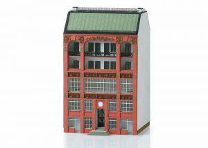 Building Kit for a City Building in Art Nouveau