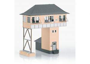 "Building Kit of the ""Kreuztal (Kn) Gantry-Style Signal Tower"""