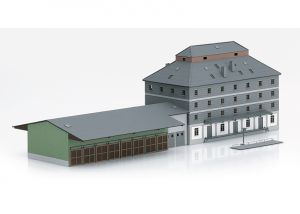 "Building Kit of the ""Raiffeisen Warehouse with Market"""