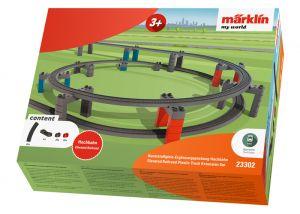 Märklin my world - Kunststoffgleis-Ergänzungspackung Hochbahn