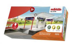 Märklin my world - Bahnsteig mit Lichtfunktion