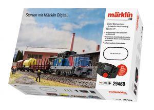 """Digital-Startpackung """"Schwedischer Güterzug Epoche VI"""". 230 Volt"""