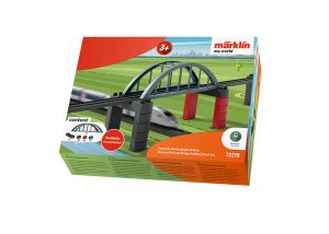 Märklin my world - Baustein-Set Hochbahn-Brücke
