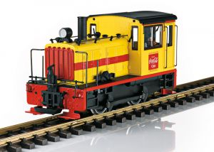 Coca-Cola® Diesellokomotive