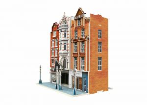 "Märklin Start up - ""Residential and Commercial Buildings"" 3D Building Puzzle"